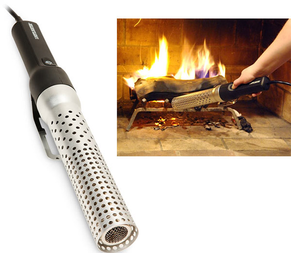 Start fires with hot air with the Looftlighter