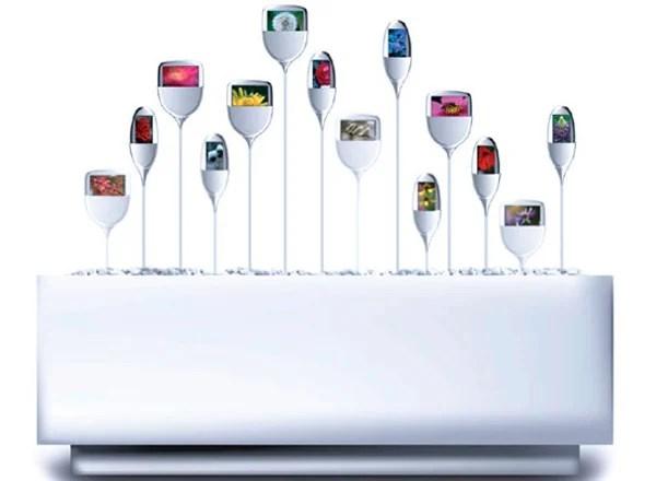 oled art display photos nanobrick