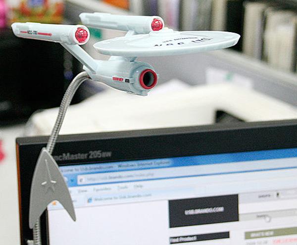 star trek webcam enterprise brando