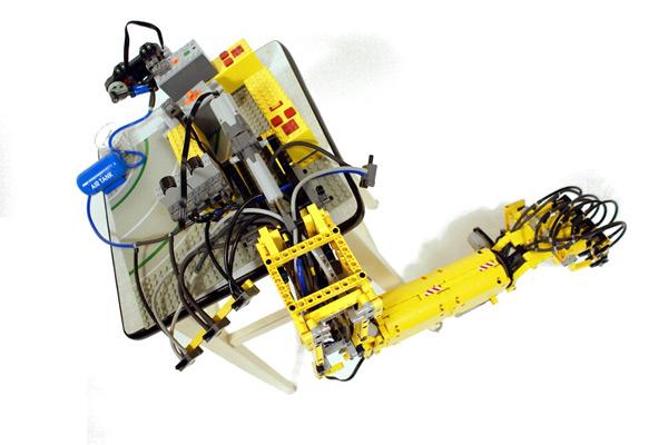lego sariel arm robot terminator