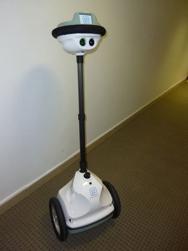 robot avatars telepresence video conference robotics anybots