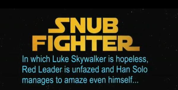 snub fighter star wars luke skywalker