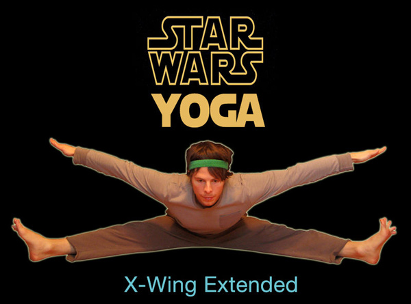 star wars yoga fun george lucas