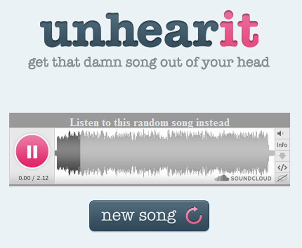 unhear it song mind hack annoying