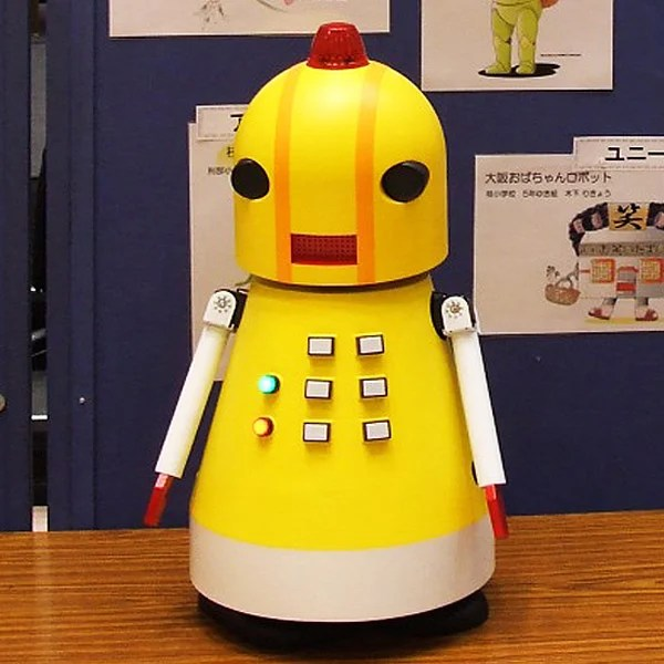 ruro japan security education recycling robot