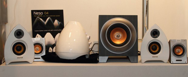 audio desktop speaker krator taiwan computer