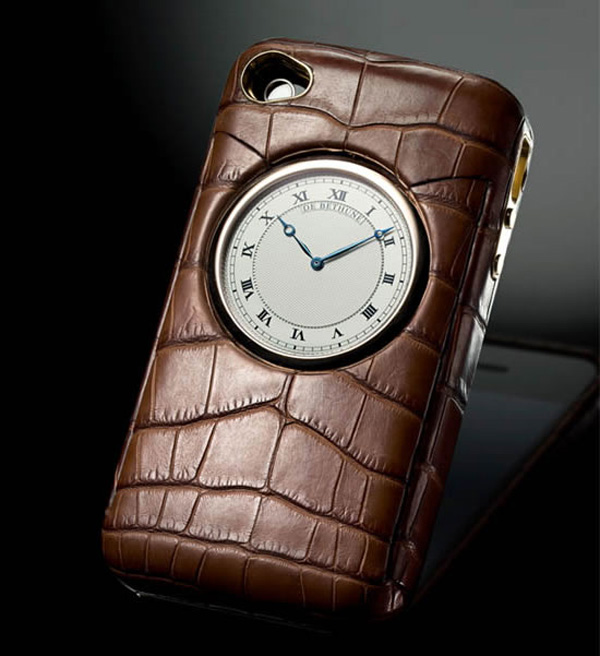 iphone case de bethune luxury leather style