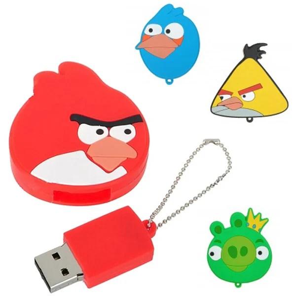 angry birds flash drive usb fun video games