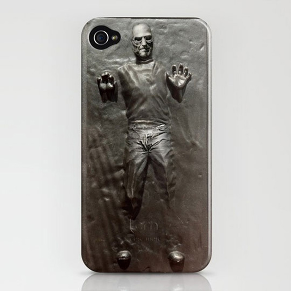 steve jobs carbonite star wars iphone 4 society 6 skin