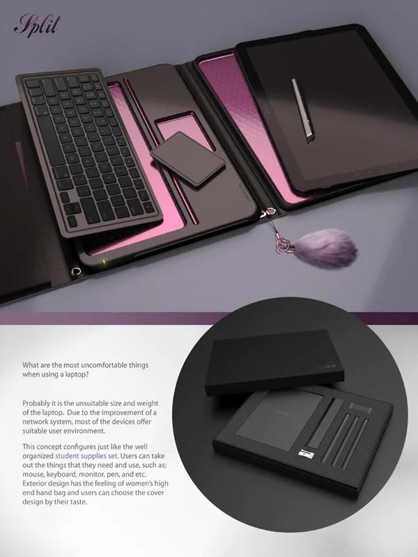 split concept tablet smartphone laptop dae hoon jung fujitsu