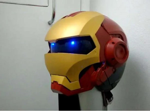 iron man helmet tigerpause444 motorcycle fan art
