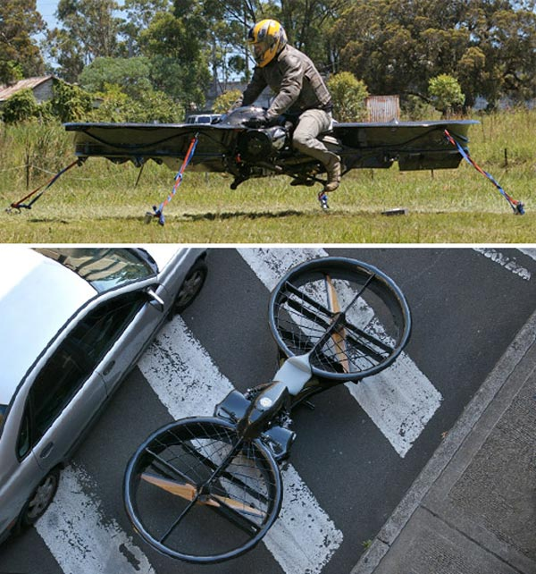 hoverbike chris malloy australia motorcycle ultralight