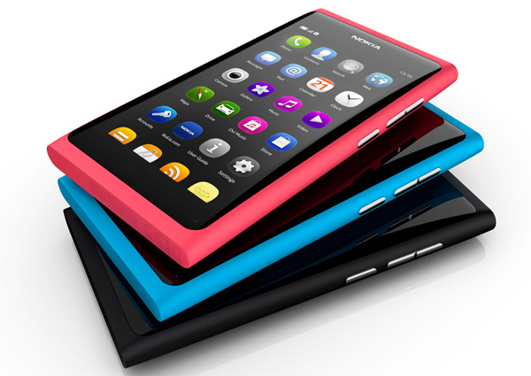 nokia n9 smartphone amoled meego iphone