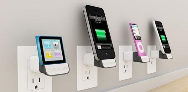 dock iphone ipod bluelounge minidock socket plug