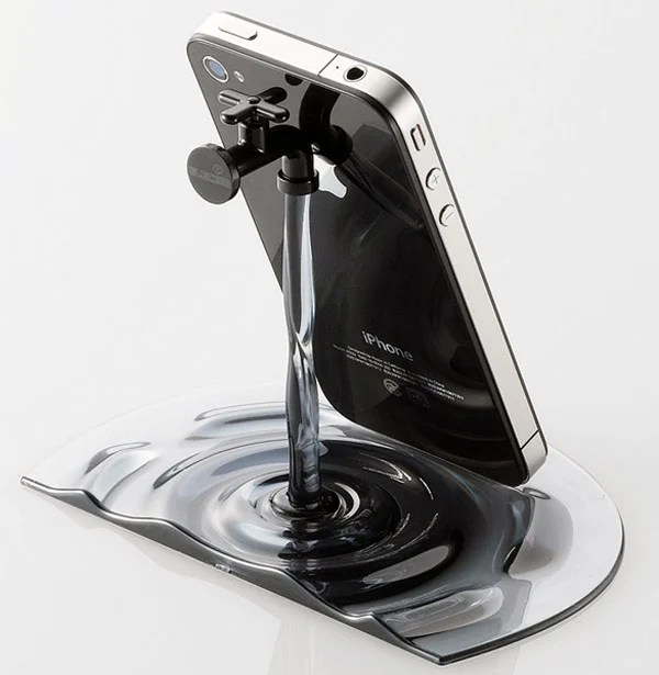 elecom_nendo_water_iphone_stand