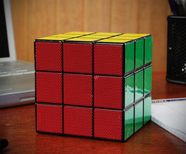 rubik cube speaker usb portable mobile music audio