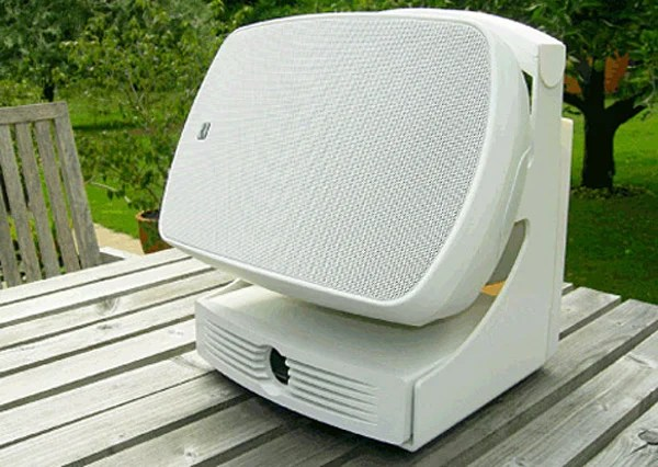outdoor speaker russound airgo airport express wireless repeater hotspot wifi