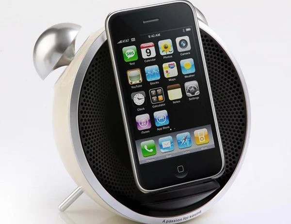 edifier tick tock clock alarm dock iphone ipod