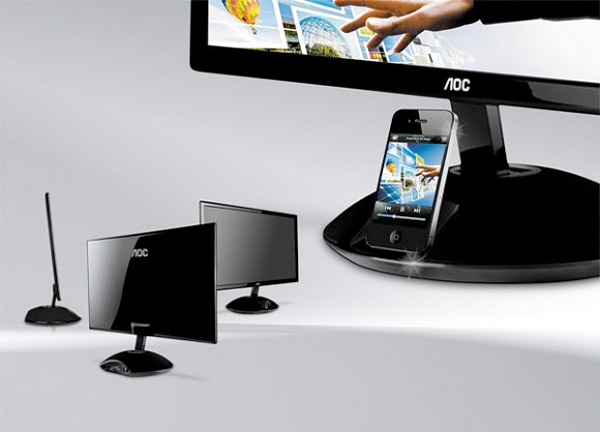aoc monitor with dock