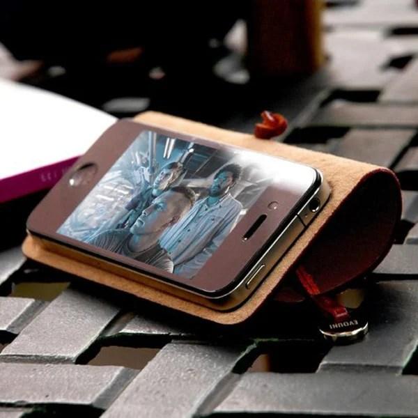 Evouni iphone leather case 01