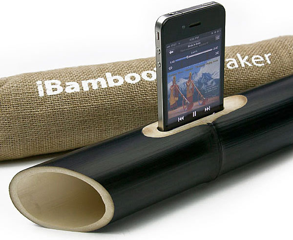 ibamboo iphone passive speaker acoustic 01