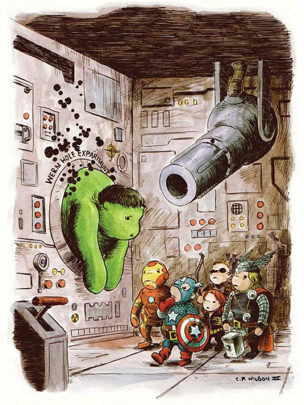 avengers winnie the pooh 01
