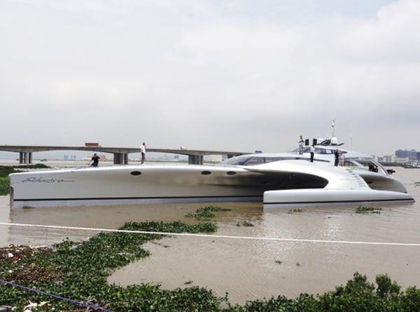 adastra super yacht ipad remote control