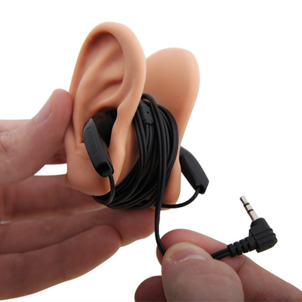 earphone fake ear tidy cord