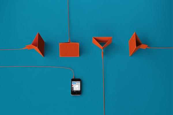 flym fold flat portable speaker