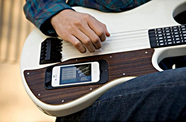 gtar guitar kickstarter iphone