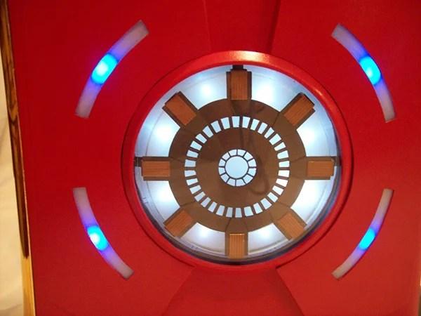 Iron Man Xbox 360 Case Mod Blue Ring Of Life
