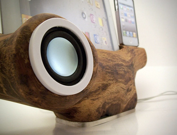 rockapplewood apple ios dock etsy