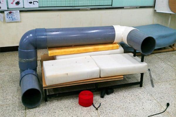 cat tunnel sofa 2