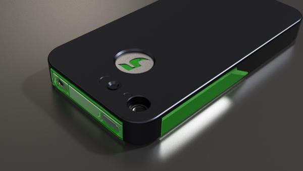 iphone flashr kickstarter case notification light