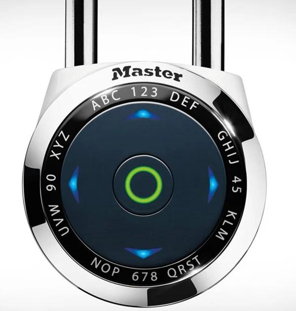 master lock padlock dialspeed digital