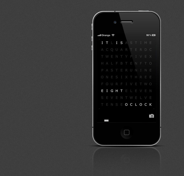 qlocktwo app ios android watch