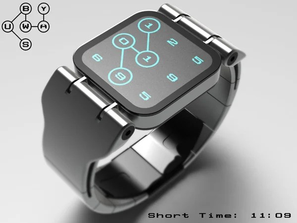 tokyoflash watch subway concept
