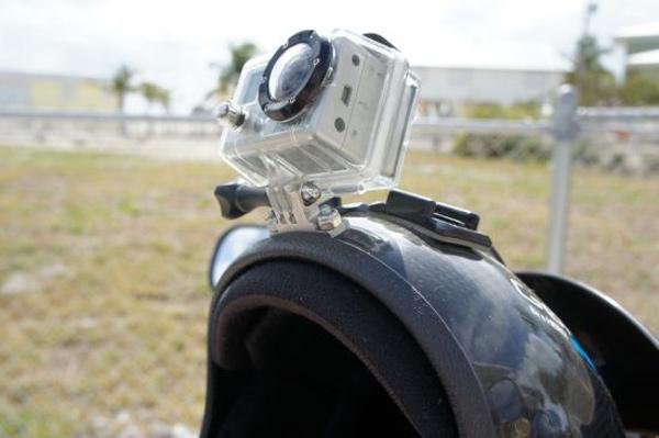 go pro camera drop 12500 feet