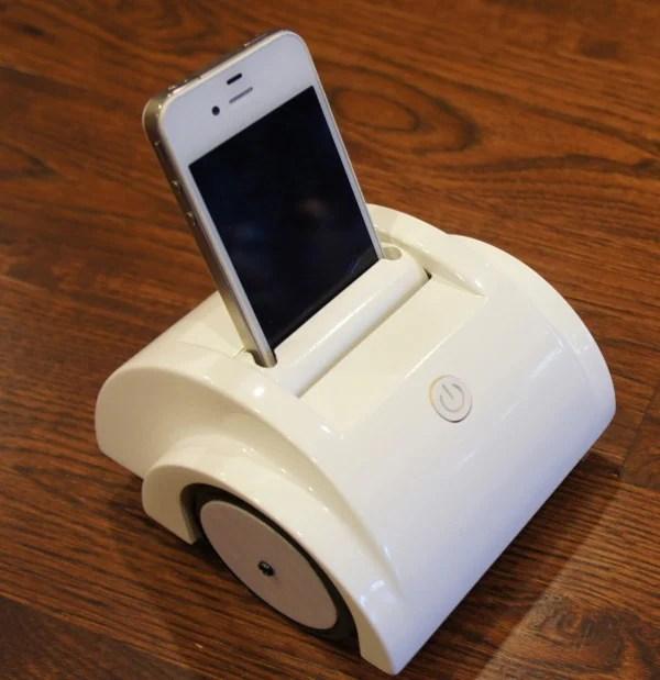 helios telepresence robot iphone