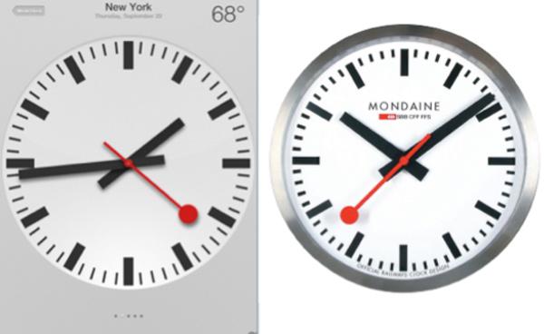 apple clock copy