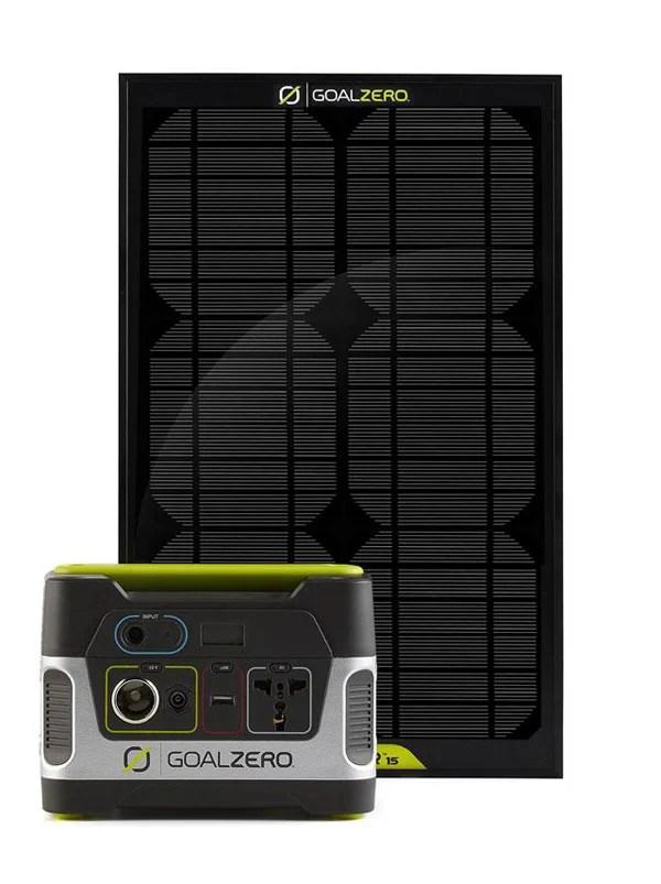 goal zero yeti 150 solar generator panel