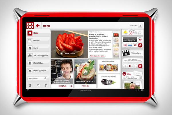 qooq tablet kitchen