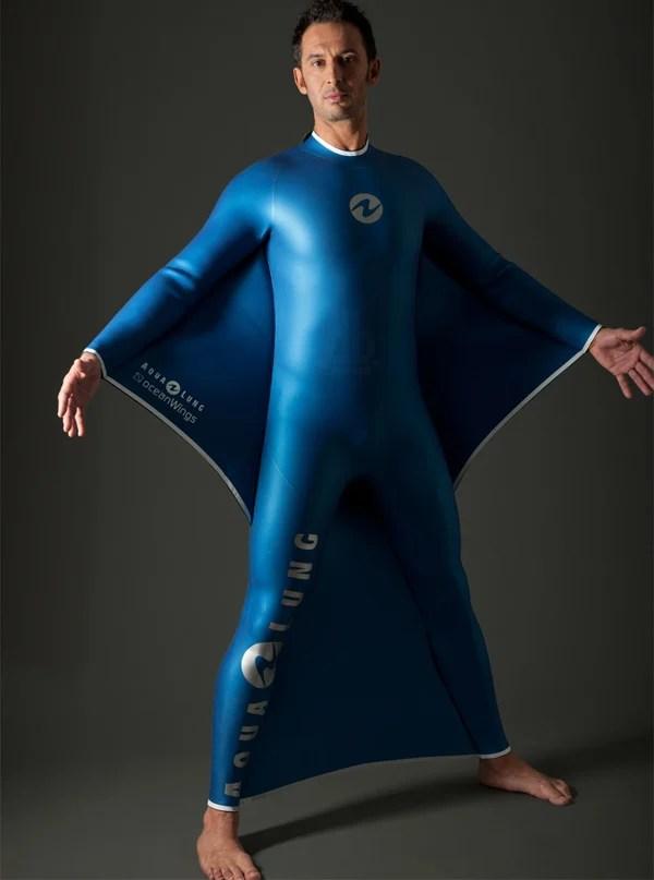 aqualung dreamlab oceanwings wingsuit