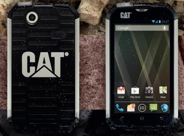 caterpillar cat b15 android phone sand