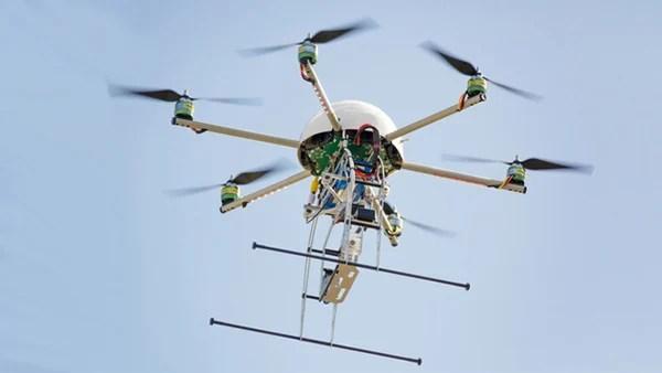 drones journalism remote lab