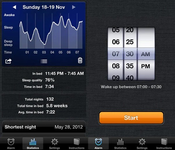 sleep cycle alarm ios