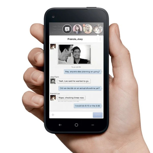 facebook mobile home htc smartphone
