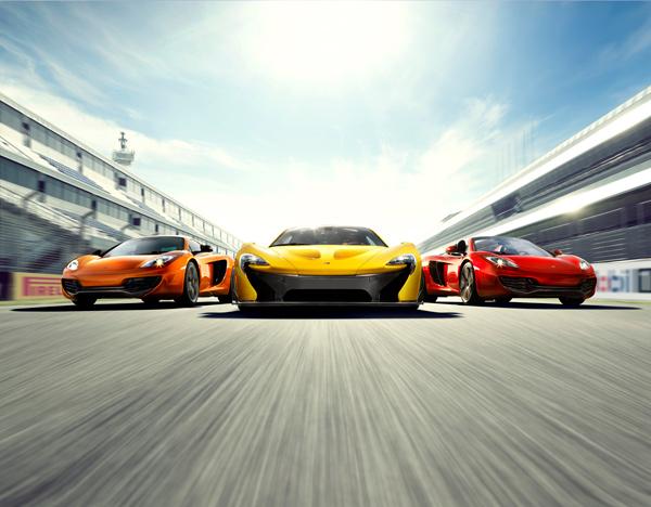 mclaren mp4 12c cars