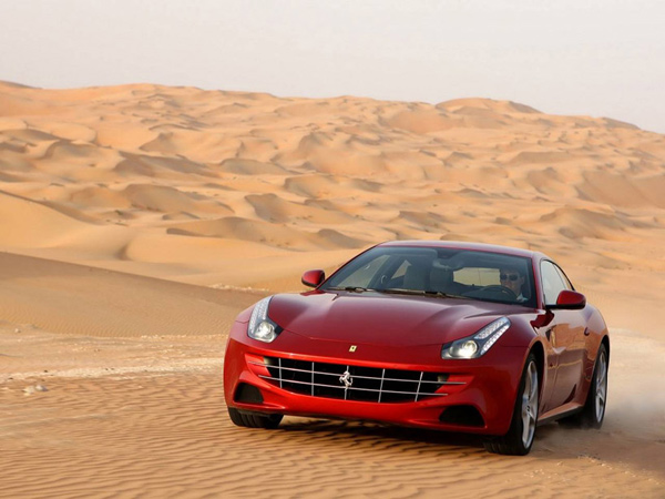 ferrari ff luxury coupe v12 supercar