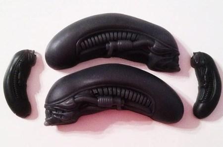 alien head soap